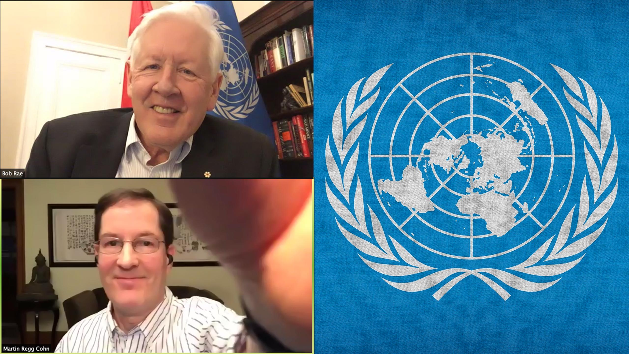 U.N. Ambassador Bob Rae weighs in on world affairs with Ryerson's Democracy Forum