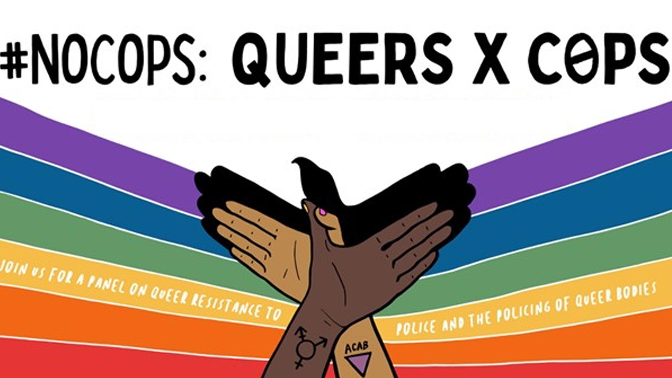 QueersXCops  CSSDP March2021.