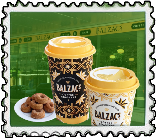 picture of balzacs coffee and donuts