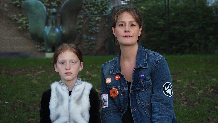 Miranda Black and her daughter.